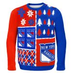 New York Rangers Ugly Christmas Sweater